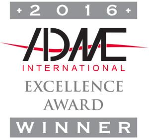 ADME International Excellence Award Winner