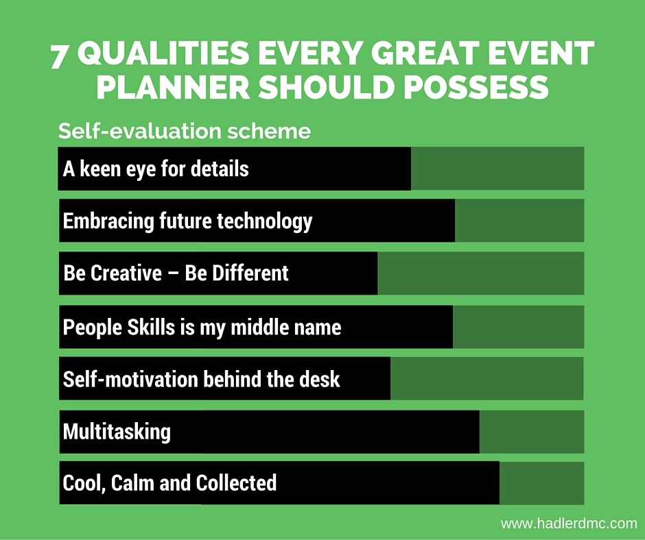 7 qualities every great event planner should possess