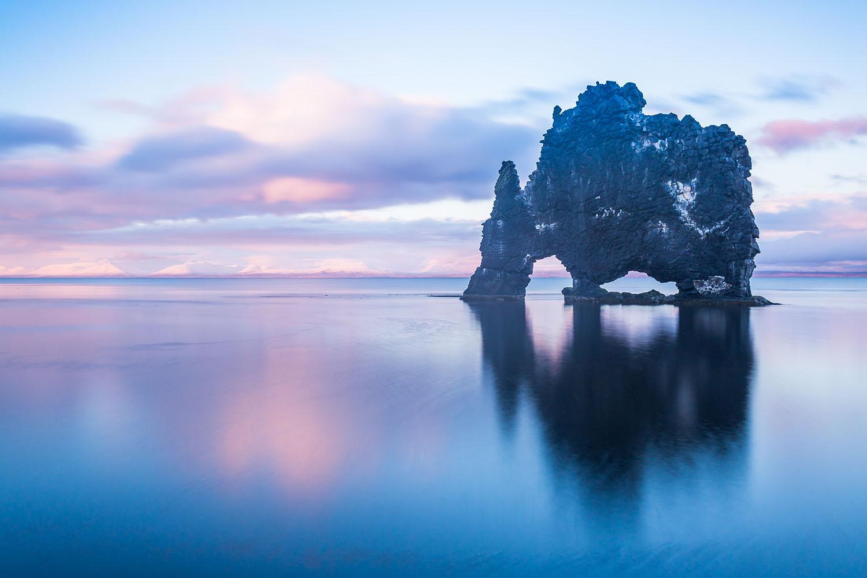 Iceland Dragon Rock