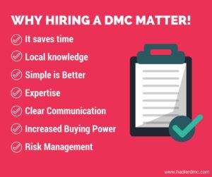 Why hiring a dmc matter