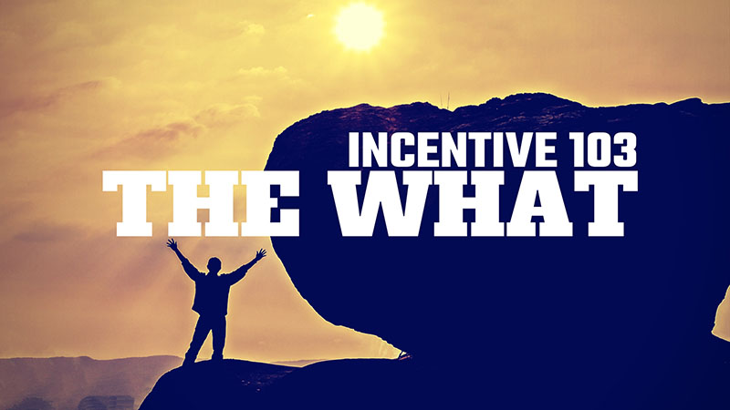 Incentive 103: The What (is the ROI?)
