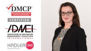 Vessy Sharankova is now a certified DMCP
