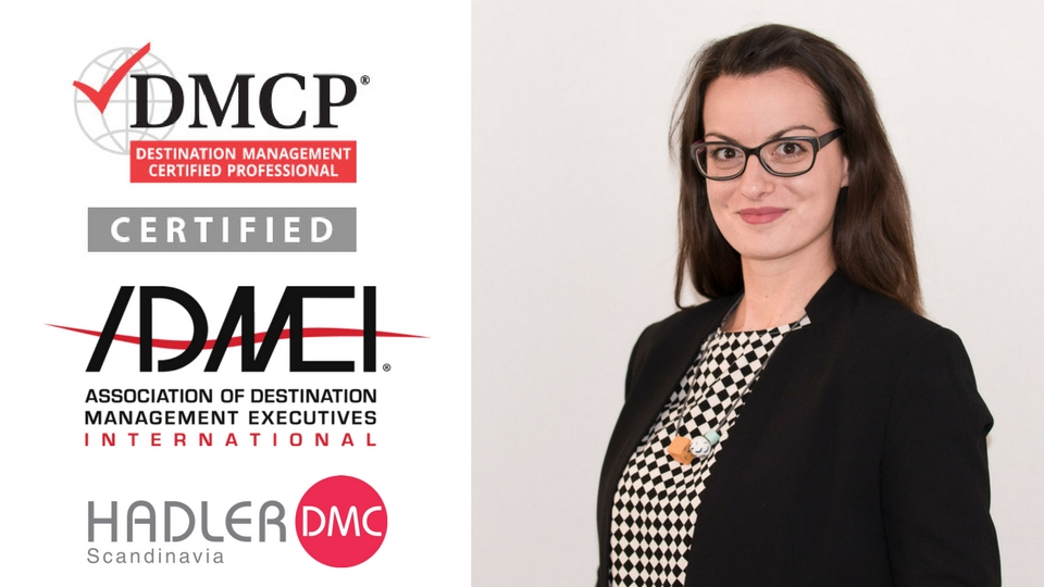 Vessy Sharankova is now a certified DMCP
